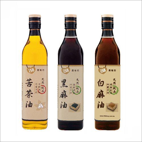 【苦茶油+麻油+香油】560ml (各1瓶) 【免運費】