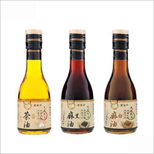 【苦茶油+麻油+香油】180ml (各1瓶)