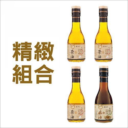 【苦茶油 3 + 香油 1】180ml